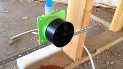 LSP Products Pull Stop Box: Testing for Crossed Water and dead lines, bleeding air/debris out