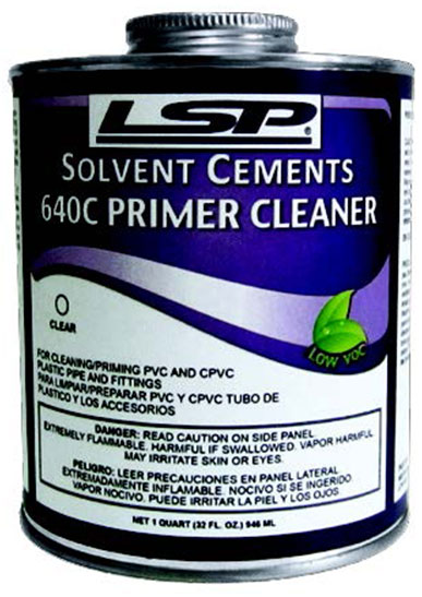 640 PRIMER CLEANER (Clear or Purple)