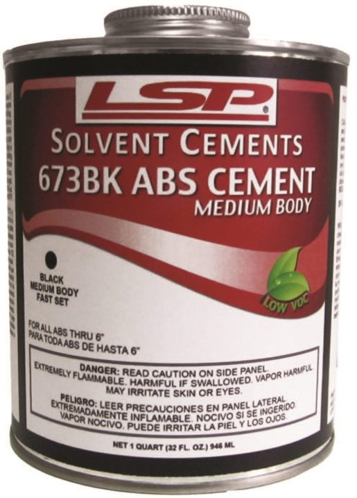 673 ABS CEMENT