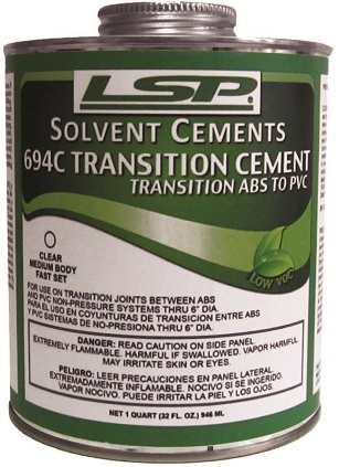 694 TRANSITION CEMENT ABS-PVC