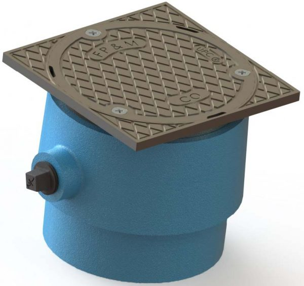 Frank Pattern™ Adjustable Cover No Hub Floor Cleanouts