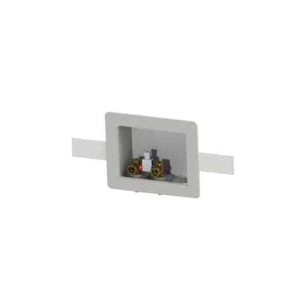 Plastic Switch Hitter® Outlet Box With Plastic Simplex Handle