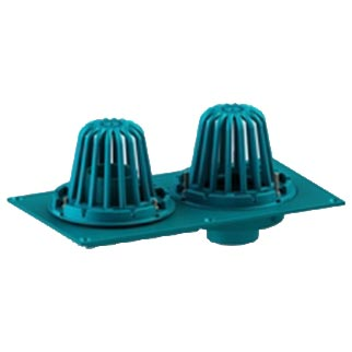 "Frank Pattern™ Cast Iron Combination 8 1/2"" Diameter Roof Drain"