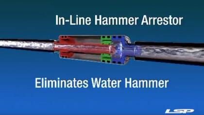 Inline Hammer Arrestor with LSP