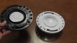 LSP Polymer Pop Up Closet Flange w/ test cap product overview