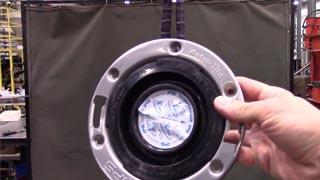 LSP Pop Up v IPS closet flange strength test
