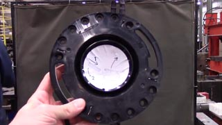 LSP Pop Up v Oatey closet flange strength test