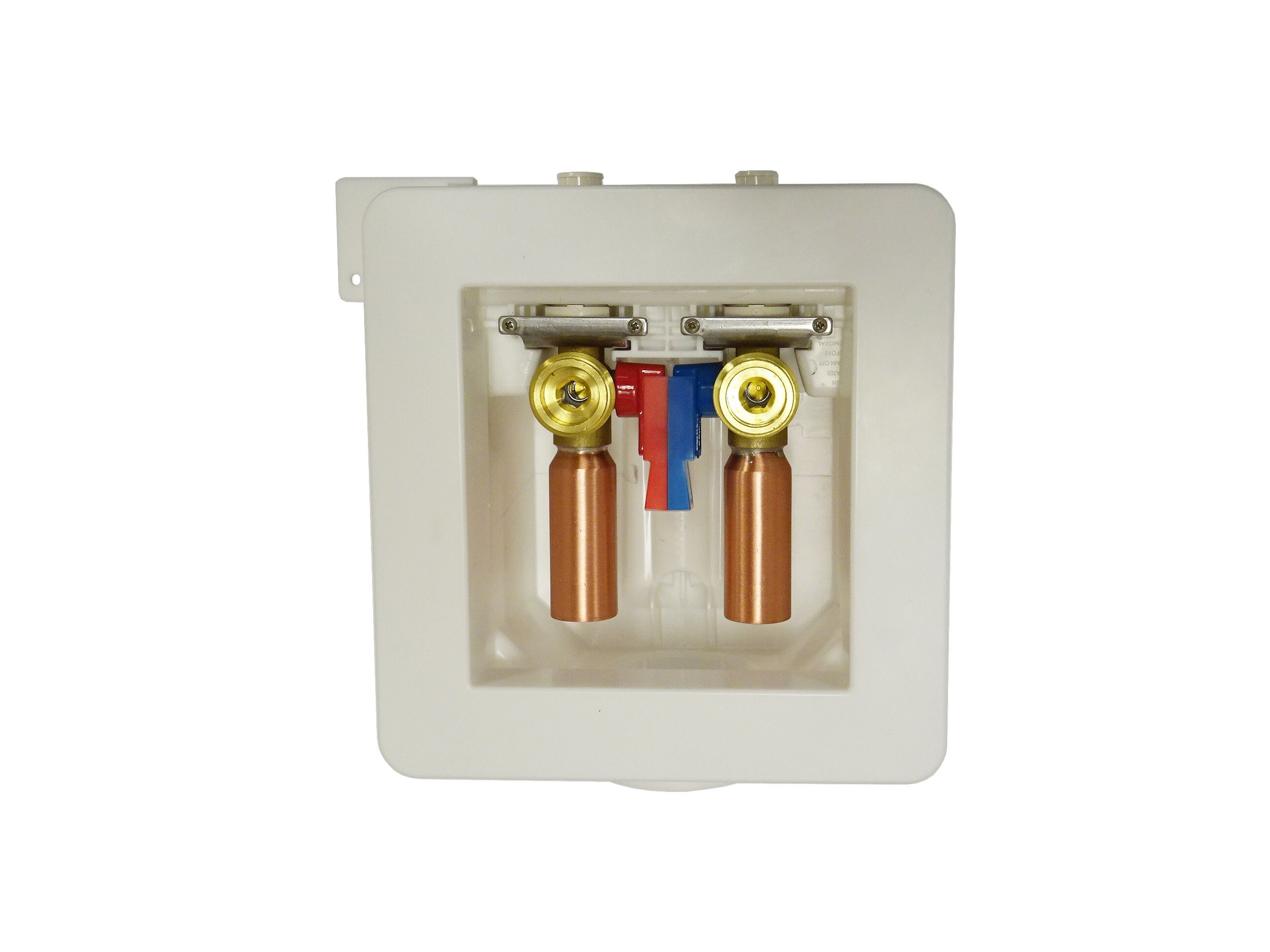 Washing Machine One Stop Box™ with Water Hammer Arresters - LSP Products